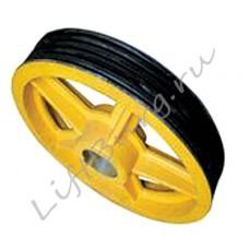 Канатоведущий шкиф (КВШ, Traction wheel) Hitachi Ø 575/515