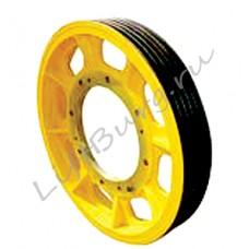 Канатоведущий шкиф (КВШ, Traction wheel) LG-Sigma Ø 850