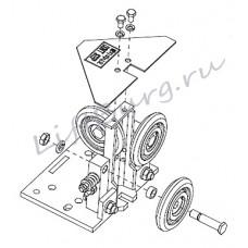 Башмак роликовый (Slipper guide shoe) OTGS-42 (14-KAA24180A) OTIS
