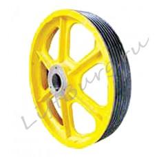 Канатоведущий шкиф (КВШ, Traction wheel) OTIS 3200 Ø 755
