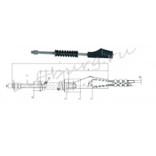 Подвеска каната (Rope fastening) MISRF-8W Ø8 мм