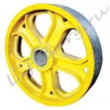 Канатоведущий шкиф (КВШ, Traction wheel) Shindler W163 Ø 570