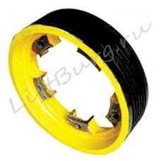 Канатоведущий шкиф (КВШ, Traction wheel) Shindler W57 Ø 565